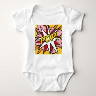 Comic Book POP! Baby Bodysuit