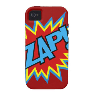 Comic Book Pow Burst iPhone 4/4S Covers