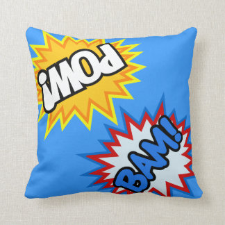 Comic Book Pow! Burst Cushion