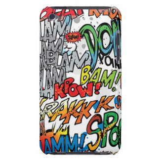 Comic Book Power Barely There iPod Cover