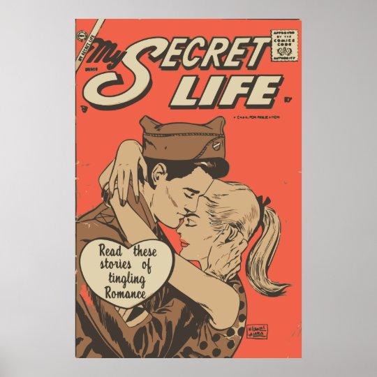 Comic Book Romance My Secret Life 22 Poster