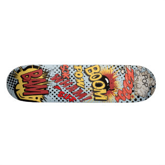 Comic Book Skateboard