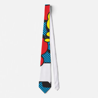 Comic Book Thought Bubbles Tie