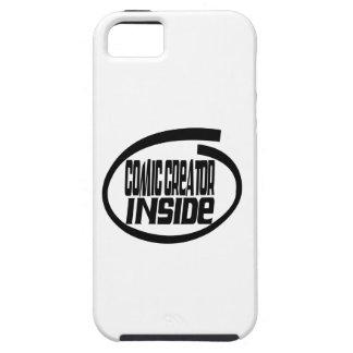 Comic creator Inside iPhone 5/5S Cover