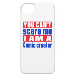Comic creator scare designs iPhone 5 cases