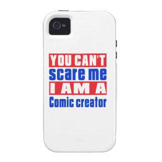 Comic creator scare designs iPhone 4/4S case