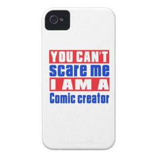 Comic creator scare designs Case-Mate iPhone 4 cases