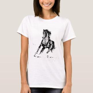 Comic Drawing Horse T-Shirt