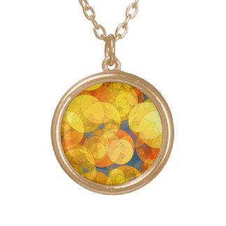 COMIC GOLDEN BUBBLES Necklace