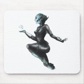 Comic Heroine / Fish Lady Mouse Pad