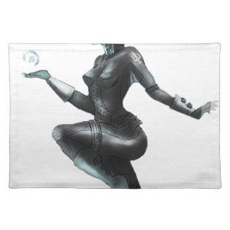 Comic Heroine / Fish Lady Place Mat