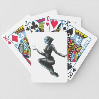 Comic Heroine Fish Lady Poker Deck