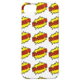 Comic 'Ka-Boom!' Barely There iPhone 5 Case