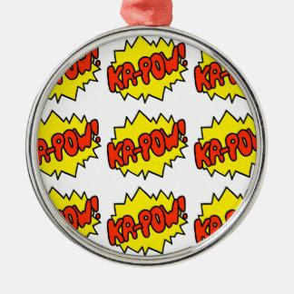 Comic 'Ka-Pow!' Christmas Ornament