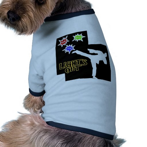 Comic Kick Doggie T Shirt
