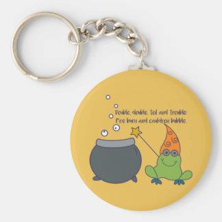 Comic McBeth Halloween Basic Round Button Key Ring