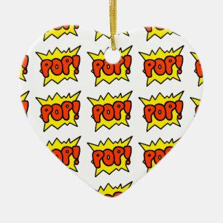 Comic 'Pop!' Christmas Ornament