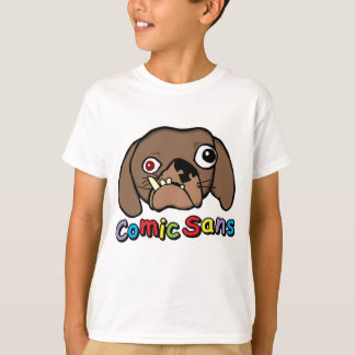 Comic Sans Dog T-Shirt