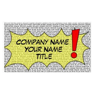 Comic Speak Business Card