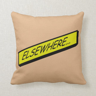 Comic-strip cushion – elsewhere...