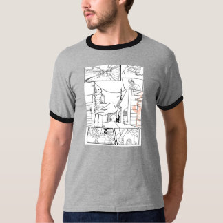 Comic strip t shirt