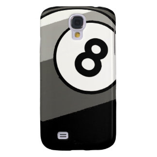 Comic Style 8 Ball Galaxy S4 Case