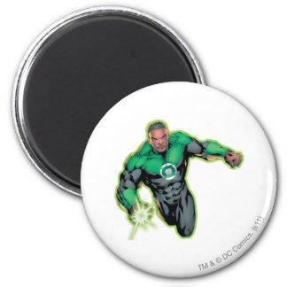 Comic Style - Green Lantern 6 Cm Round Magnet