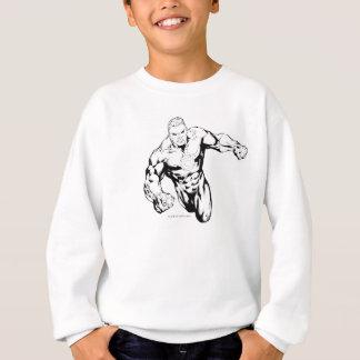 Comic Style - Green Lantern, Black and White Sweatshirt