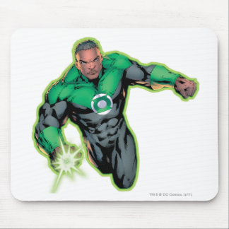 Comic Style - Green Lantern Mouse Pad