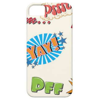 Comic Style Super Hero Girly Design iPhone 5 Cover