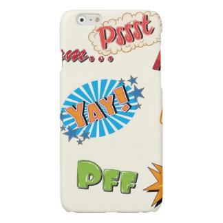 Comic Style Super Hero Girly Design iPhone 6 Plus Case