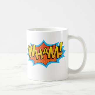 Comic Wham! Coffee Mug