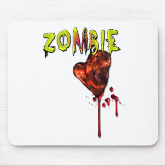 Comic Zombie Love Mouse Pads