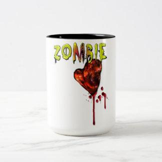 Comic Zombie Love Coffee Mug