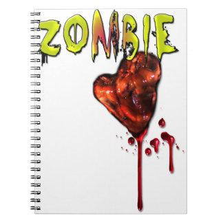 Comic Zombie Love Notebook