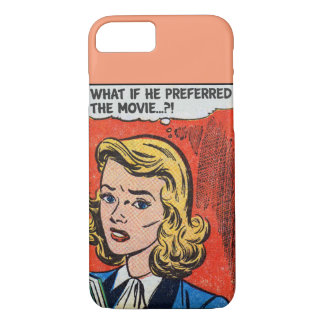 COMICAL iPhone 7 Case | He Preferred the Movie?