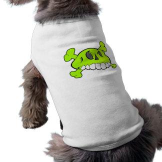 Comical Skull Pet Shirt