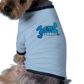Comical Skull Doggie T Shirt
