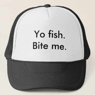 Comical tees in various saying trucker hat