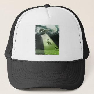 Comical UFO Cow Abduction Hat