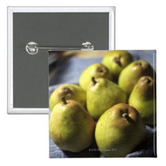 Comice Pears 15 Cm Square Badge