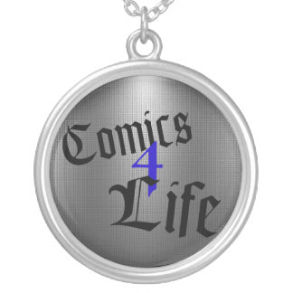 Comics 4 Life Necklace (Blue)