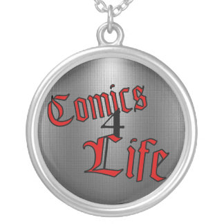 Comics 4 Life Necklace (Inverted Red)