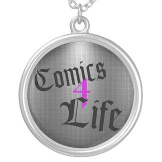 Comics 4 Life Necklace (Purple)