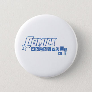 Comics Anonymous 6 Cm Round Badge