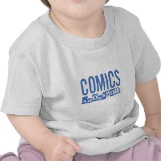 Comics Anonymous Merch Tees