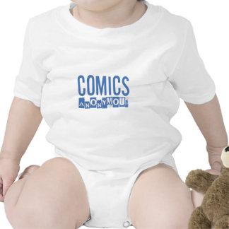 Comics Anonymous Merch Baby Bodysuit