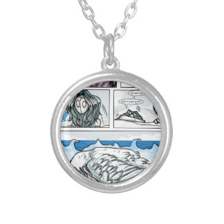 Comics by Emma Haephrati Personalized Necklace