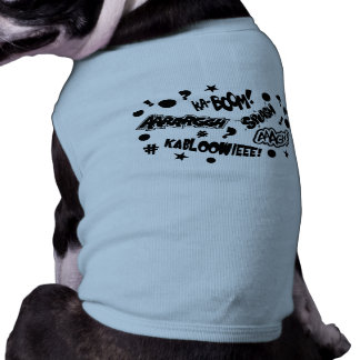 Comics Call-Outs Dog Tee Shirt