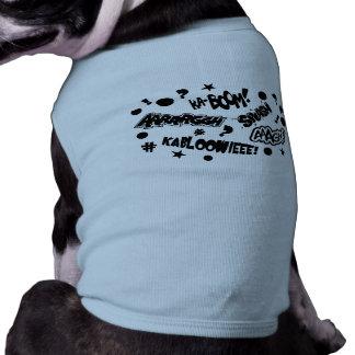 Comics Call-Outs Sleeveless Dog Shirt